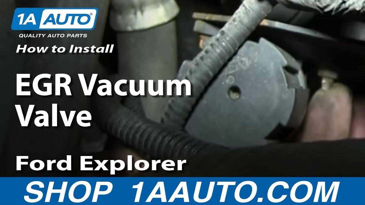 How To Replace Egr Valve Vacuum Modulator 01 03 Mercury
