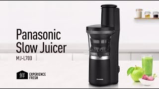 Panasonic Slow Juicer: MJ-L700 für ganze Früchte