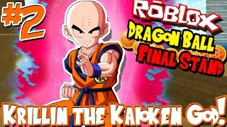 KRILLIN THE KAIOKEN GOD! | Roblox: Dragon Ball Final Stand (Human) - Episode 2