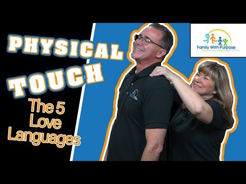 dating someone with physical touch love language