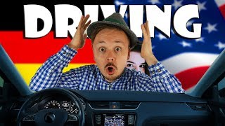 How to: Driving In Germany vs The USA | Get Germanized feat. ILikeBigBugs | Car of Thoughts #7