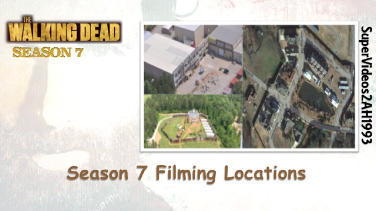 the walking dead season 7 filming locations youtube. Black Bedroom Furniture Sets. Home Design Ideas