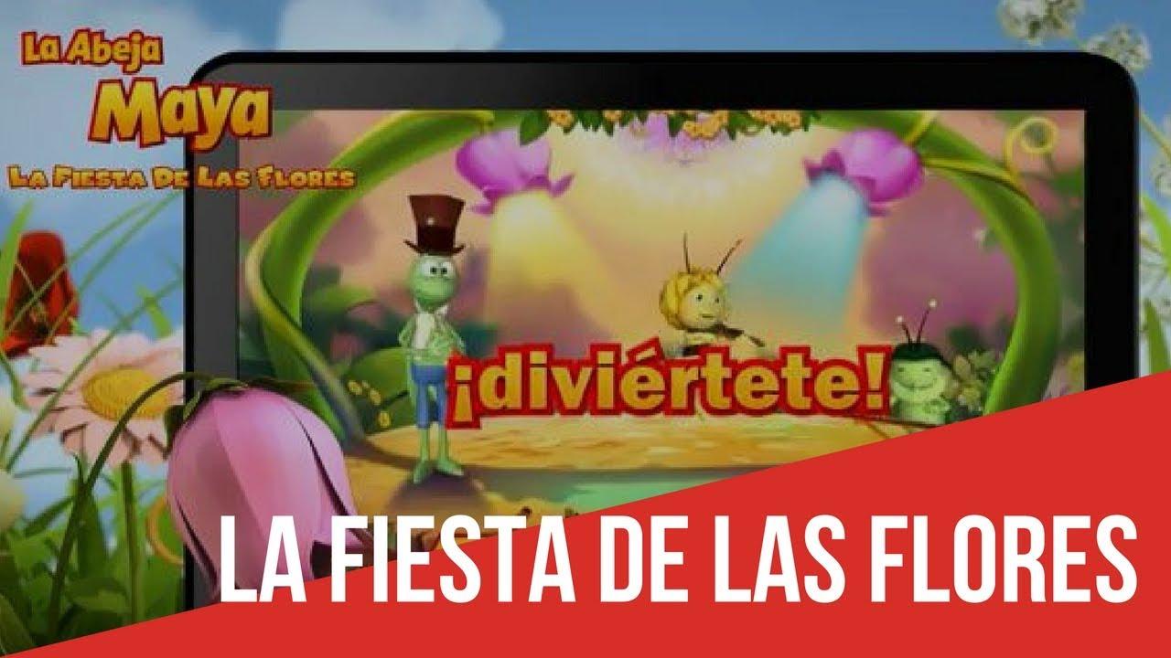 Juego La Abeja Maya La Fiesta de las Flores  YouTube