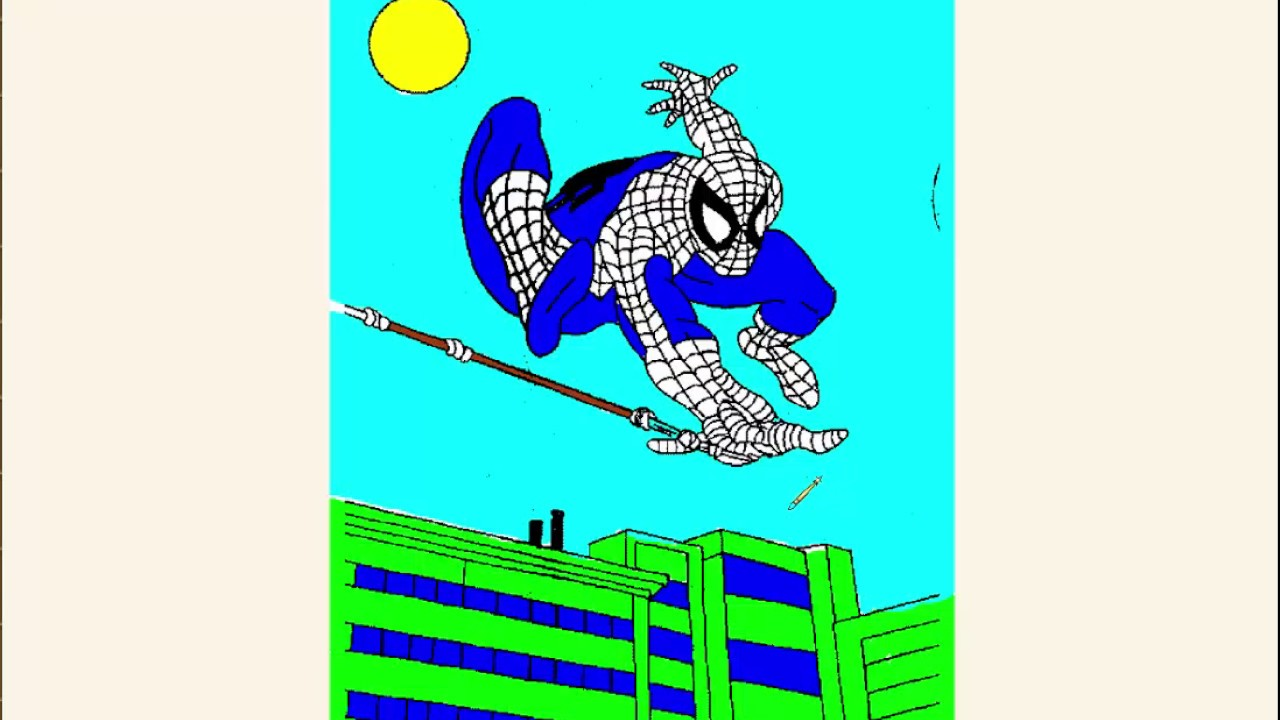 Spiderman #Coloring / Coloring #Book / Coloring Pages / Learn Colors ...