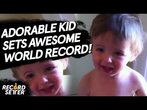 Fastest Time For A Two Year Old To Sing The Alphabet Song