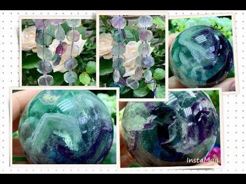 ФЛЮОРИТ 😈 Энциклопедия Ювелирных Камней 😈 Чарующие Самоцветы 🌸🌸🌸