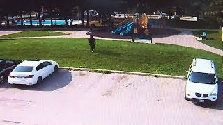 Brazen gun fight near Toronto playground caught on camera