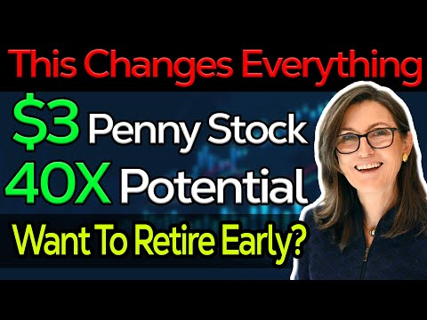 Must Watch $3 Penny Stock 40x Potential - Early Retirement Stock