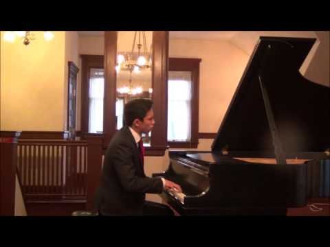Poulenc Improvisation No  15  Kyran Adams