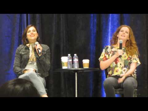 OUAT San Francisco 2017 Lana Parrilla and Rebecca Mader GOLD Panel