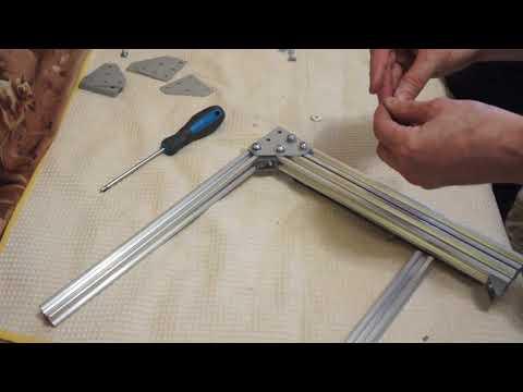 алюминиевых конструкций вертикальные стойки и алюминиевые