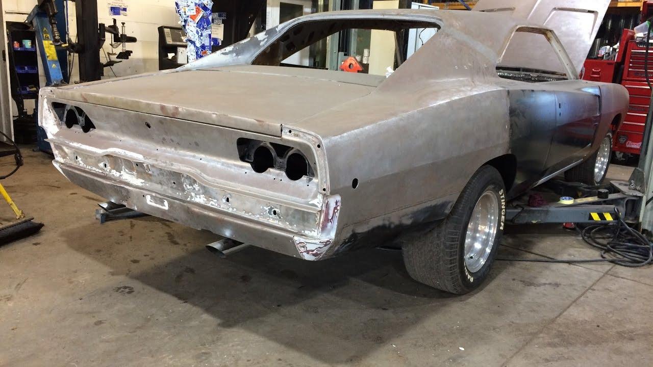 Dodge Charger 1968 Restoration Pt1 Youtube Project Car