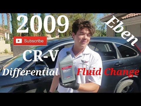 Honda CR-V AWD Differential Fluid Change