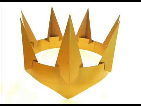 How To Make A Gold Evil Queen Crown