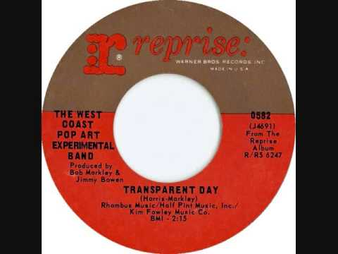 The West Coast Pop Art Experimental Band - Transparent day