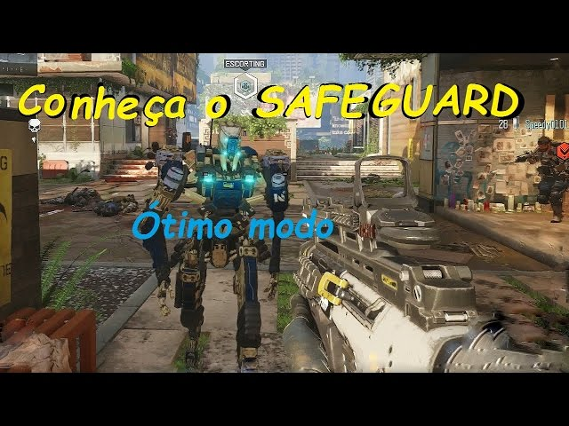 Black Ops III - Novo modo SAFEGUARD muito bom