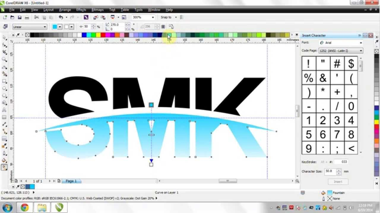 tutorial coreldraw x6 logo smk youtube rh youtube com manual corel draw x6 romana tutorial corel draw x6 pdf