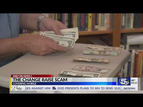 VIDEO: Quick Change artist on the loose; We find out how the scam works