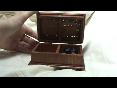 Over the rainbow music box, musical jewelry box