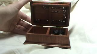 Over The Rainbow Music Box, Musical Jewelry Box