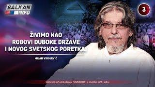 INTERVJU: Milan Vidojević - Živimo kao robovi duboke države i novog svetskog poretka! (17.11.2019)