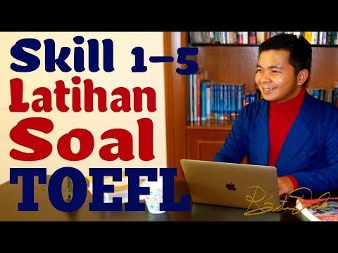 Latihan Soal TOEFL (Skill 1-5)