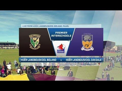 Premier Interschools    Landbouskool Boland v Landbouskool Oakdale   2nd Half