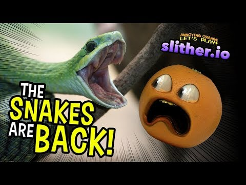 The Snakes Are Back!!! (AO Plays Slither.io)