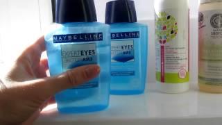 Средство для снятие макияжа с глаз Maybelline Expert Eyes