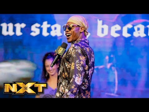 Velveteen Dream sings his own version of the national anthem: WWE NXT, May 1, 2019