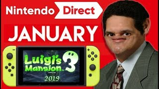 January 2019 Nintendo Direct - 8 Things To Expect