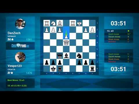 Chess Game Analysis: DanZech - Vespa123 : 0-1 (By ChessFriends.com)