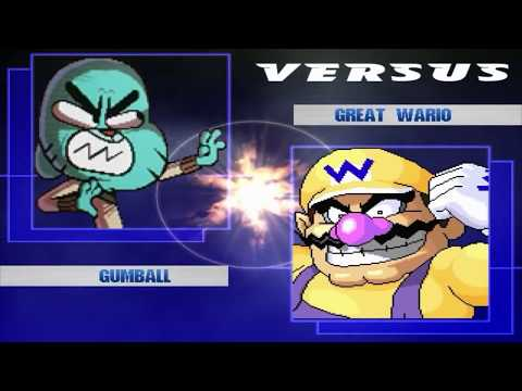 Kids PlayMode New MUGEN Characters Roster and Gumball Training