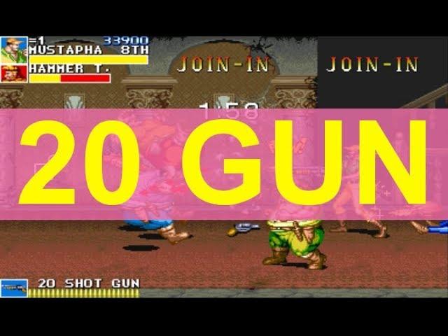 cadillacs and dinosaurs boss gameplay (rom hack)
