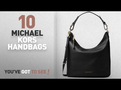 dc87b1c856 Hot New Michael Kors Handbags / Hobo Bags: Michael Kors Lupita Large Leather  Hobo Bag - YouTube