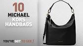 04bab83704 MICHAEL KORS FULTON MEDIUM TOP ZIP CONVERTIBLE-BLACK LEATHER - YouTube