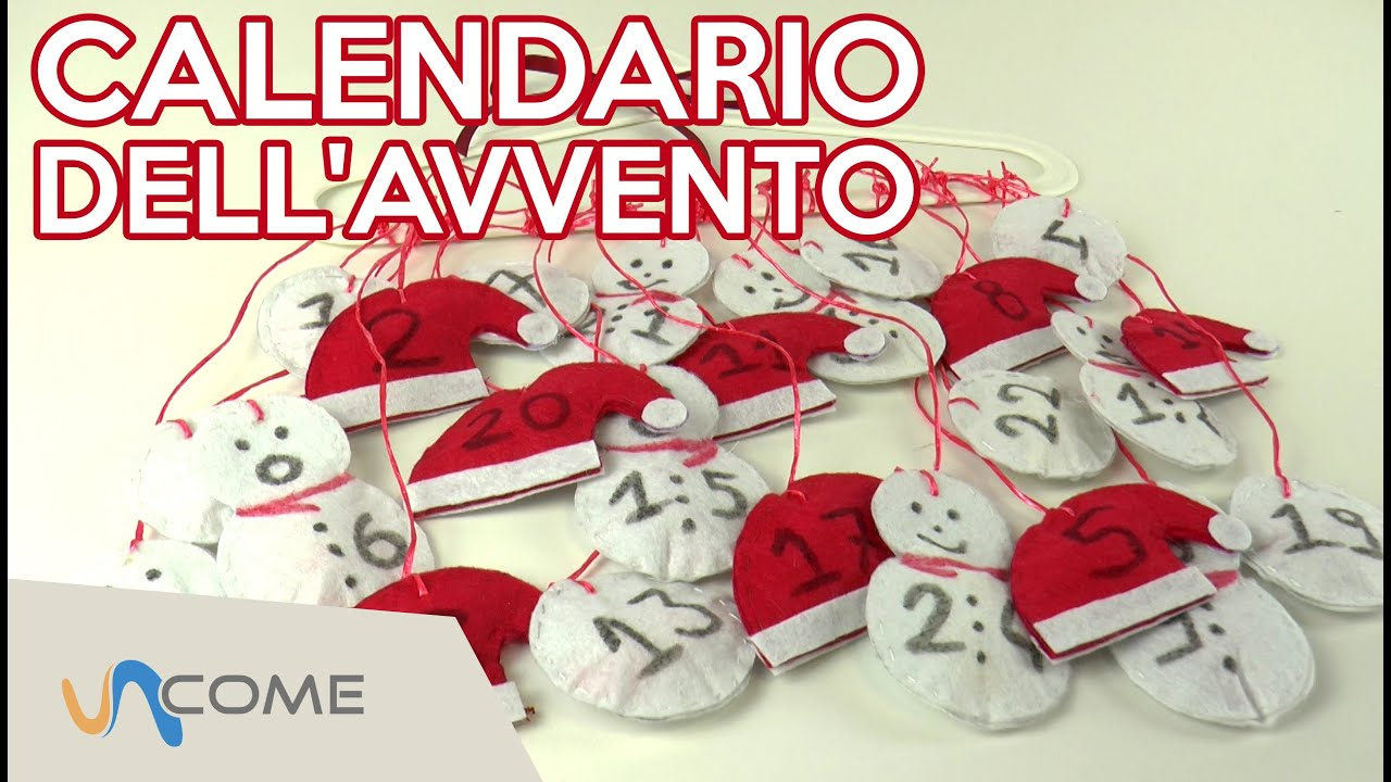 Calendario dell'avvento fai da te - YouTube