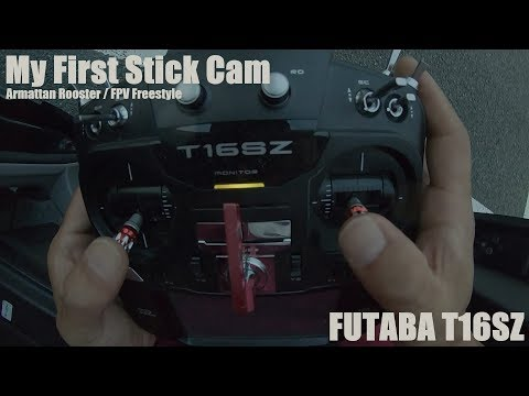 FUTABA T16SZ / My First Stick Cam Test / Drone / FPV Freestyle / Japan