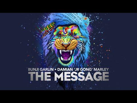 Bunji Garlin & Damian 'Jr. Gong' Marley - The Message | Official Lyric Video