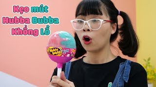 Làm Kẹo Mút Hubba Bubba Khổng Lồ - Đáng Đời Anh Hai Tham Lam