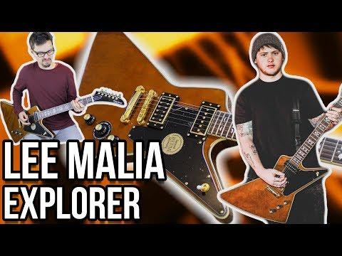 A P-94 in a Metal Guitar?!    Epiphone Lee Malia Explorer Custom Artisan Demo/Review
