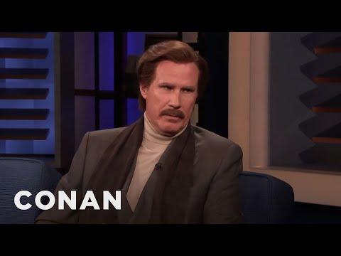 Ron Burgundy On His Burgeoning Comedy Career - CONAN on TBS