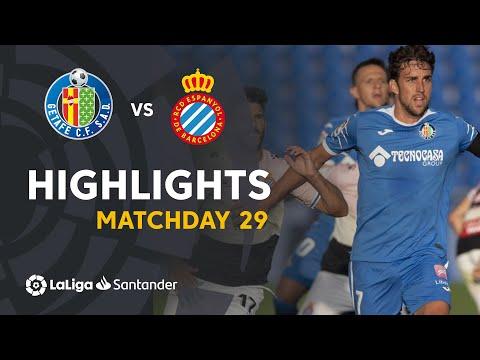 Getafe Espanyol Goals And Highlights