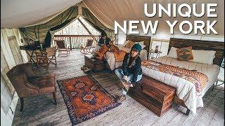 SAFARI TENT and MONGOLIAN YURT in NEW YORK | Unique Hotels
