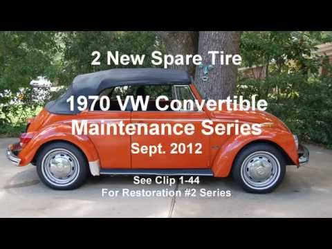 2 New Spare Tire of the VW Maintenance Series 9 2012