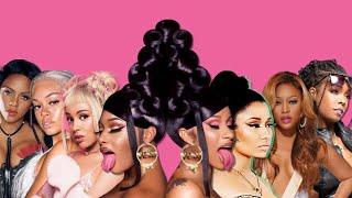WAP (Female Rap Remix) - CARDI B, MEGAN, NICKI, DOJA, TRINA, KHIA, MULATTO & LIL KIM!