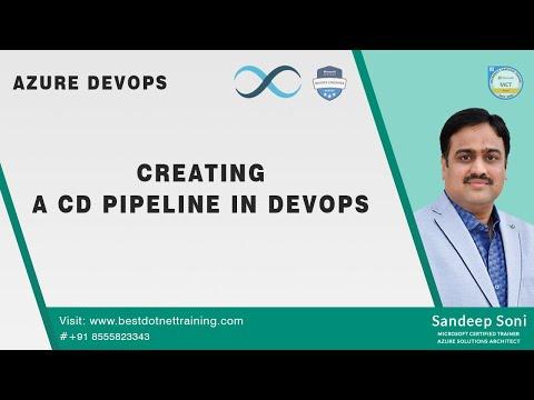 Azure DevOps | Creating A CD Pipeline In DevOps