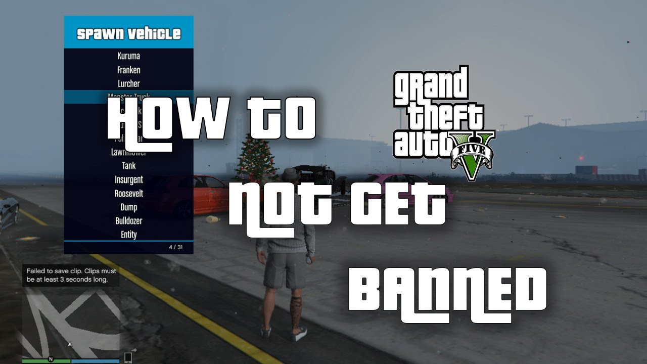 Tips How To Not Get Banned In GTA 5 ( GTA 5 ONLINE ADVICE )