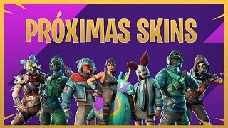 ALL SKINS THAT WILL COME FORTH IN FORTNITE