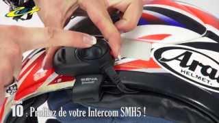 Tuto moto - Montage d'un Intercom SMH5